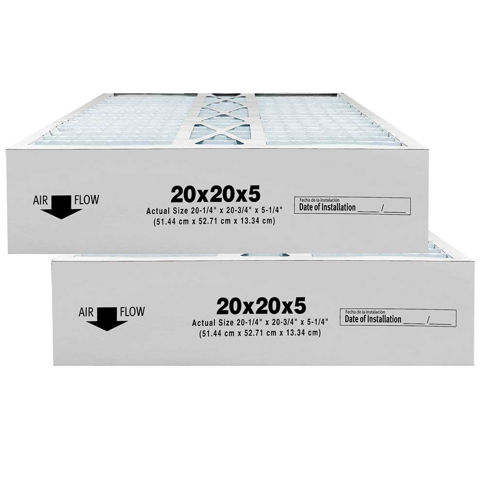 Atomic CMF2020/P102-2020  20x20x5 MERV 11 Carrier Replacement Furnace Filter - 2 Pack