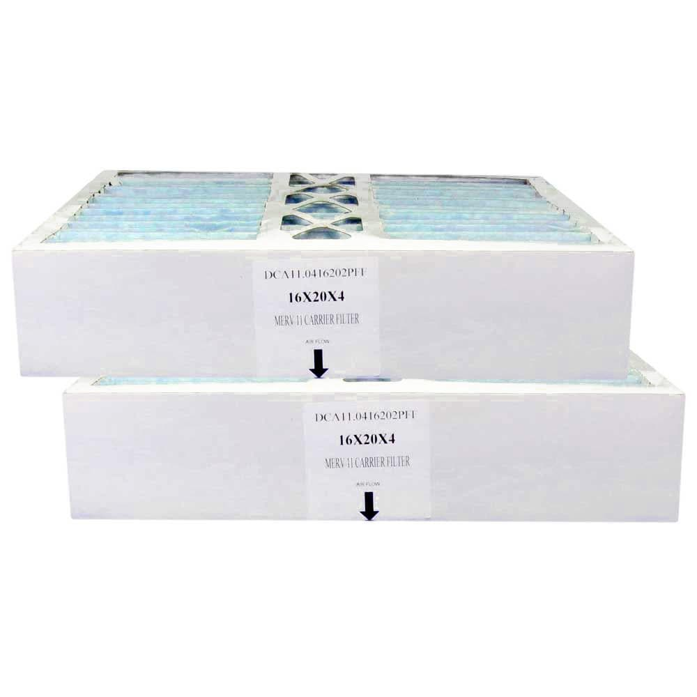 Atomic FILBBFNC0017 16x20x4.25 MERV 11 Bryant Replacement Furnace Filter - 2 Pack
