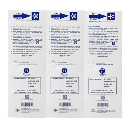 FiltersFast Compatible Replacement for Totaline P102-1620 MERV 11 Filter 2-Pack-16x22x5 Actual Size: 15-3//8 x 21-7//8 x 5-1//4