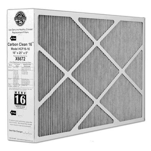 X6672 Lennox Healthy Climate 16x25x5 Merv 16 Filter- 5 pack