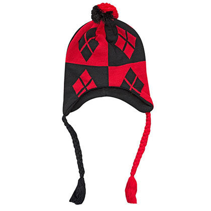 Harley Quinn Laplander Hat - Skylight Global ac4086c02ba