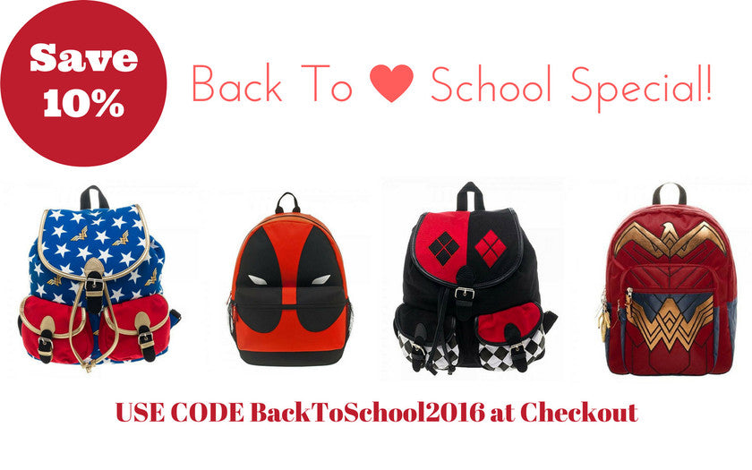 Back 2 School Backpacks and Totes