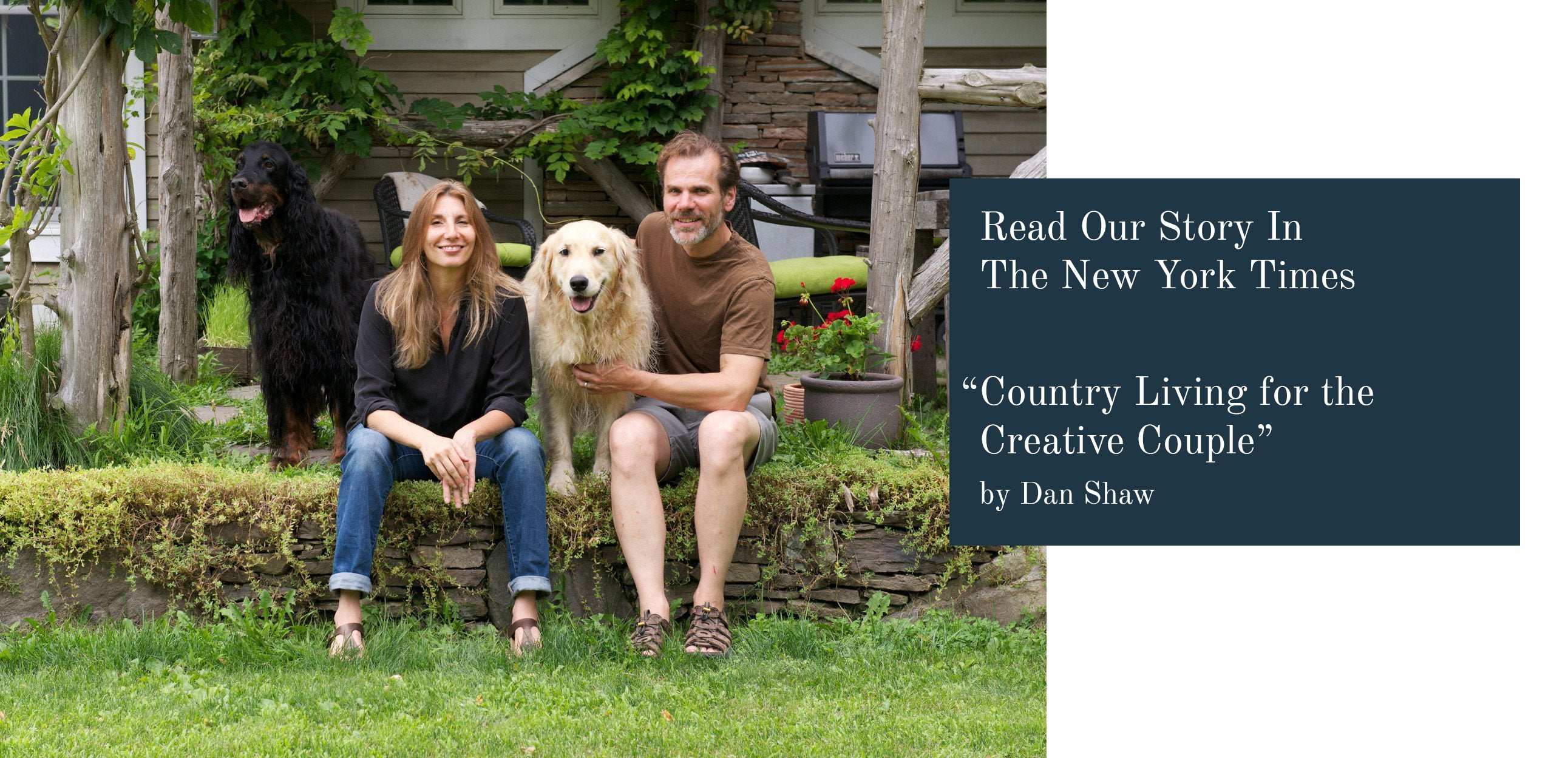 DBO HOME in The New York Times: Country Living For The Creative Couple