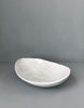 DBO HOME Handmade Porcelain Honeycomb Oval Serving Bowl Side view