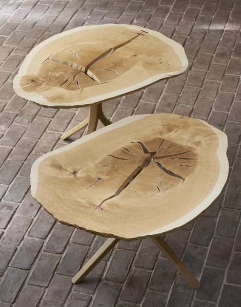 Daniel Oates for DBO HOME Twin Oaks End Tables