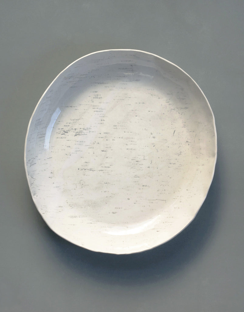 Birch Large Round Bowl