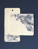 DBO HOME Handmade Porcelain Kashmir Floral Charcuterie and Cheese Boards