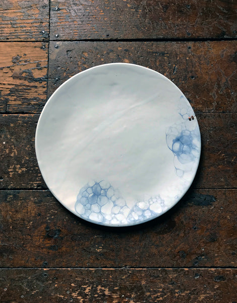 One-of-a-kind MEND Bubble Round Tray