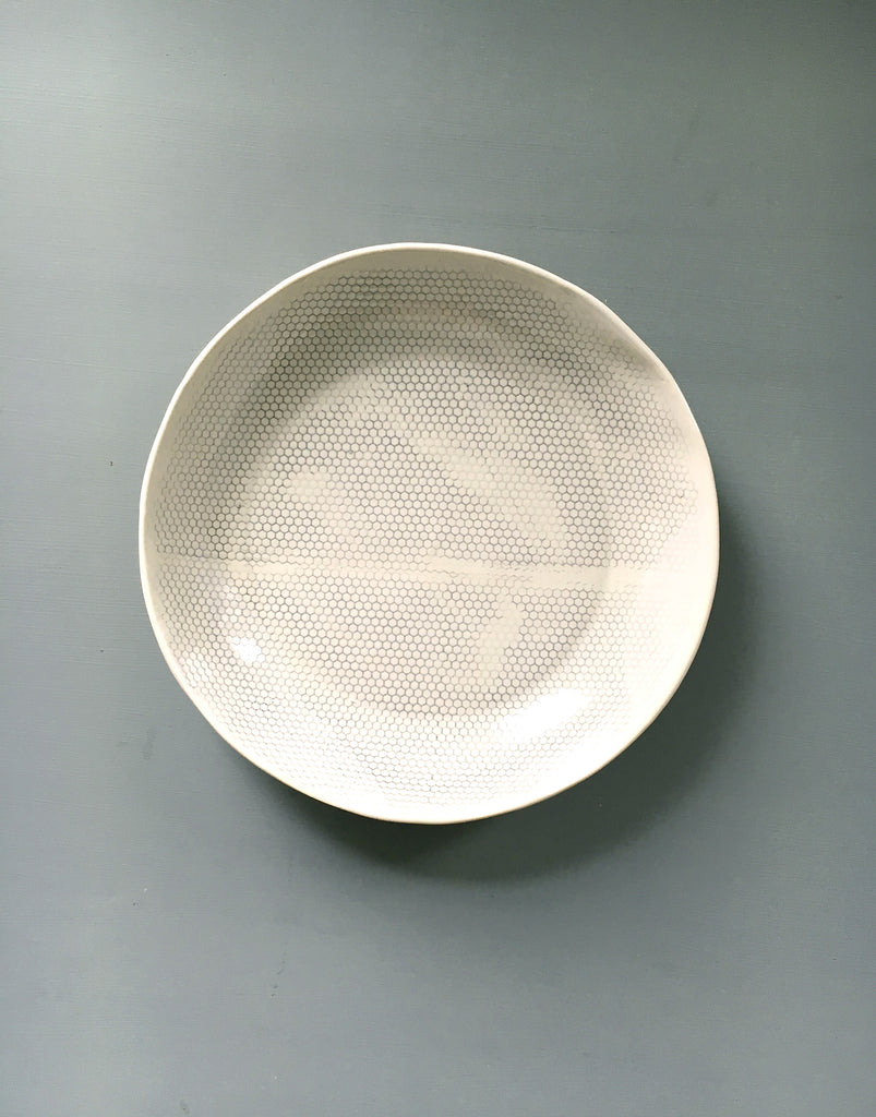 DBO HOME Honeycomb Serving Bowl