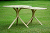 Daniel Oates for DBO HOME Twin Oaks End Tables side view