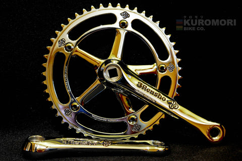 3Rensho Panto on Sugino Aero-Mighty Crankset.