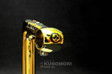 Colnago Panto on Gold Plated 3TTT Stem.