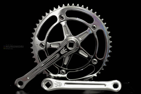 Sugino BIA Track crankset include 5 set Chainrings