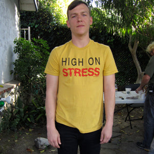 Brad Shultz Cage The Elephant Local Celebrity High On Stress T-shirt
