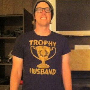 HUNTER MAHAN LOCAL CELEBRITY TROPHY HUSBAND T-SHIRT