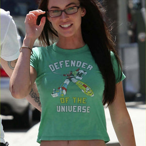 MEGAN FOX LOCAL CELEBRITY VOLTRON T-SHIRT