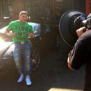 RONNIE MAGRO LOCAL CELEBRITY I LOVE MY HOOD T-SHIRT