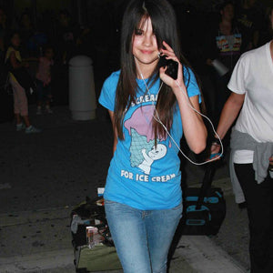 SELENA GOMEZ LOCAL CELEBRITY CASPER T-SHIRT