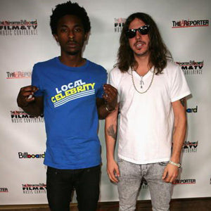 SHWAYZE LOCAL CELEBRITY LOGO T-SHIRT