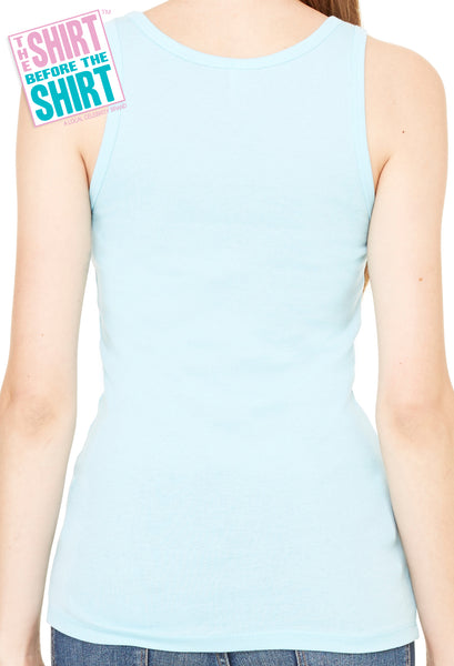Classic Beater Tank, Baby Blue
