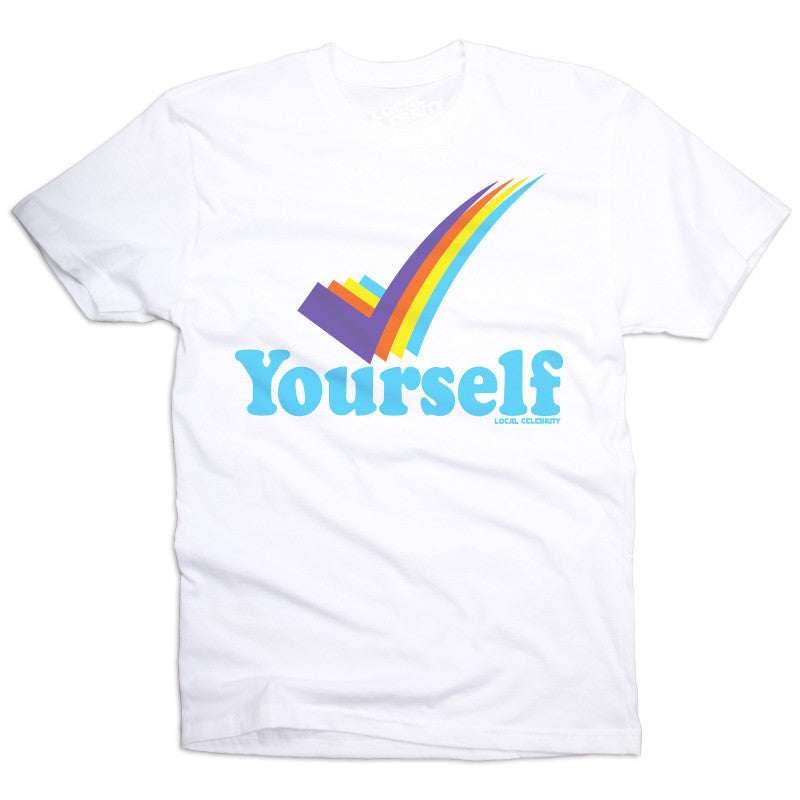 Check Yourself T-Shirt White