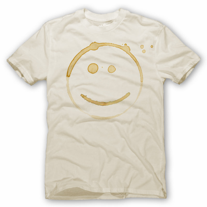 Coffee Stain Happy Face