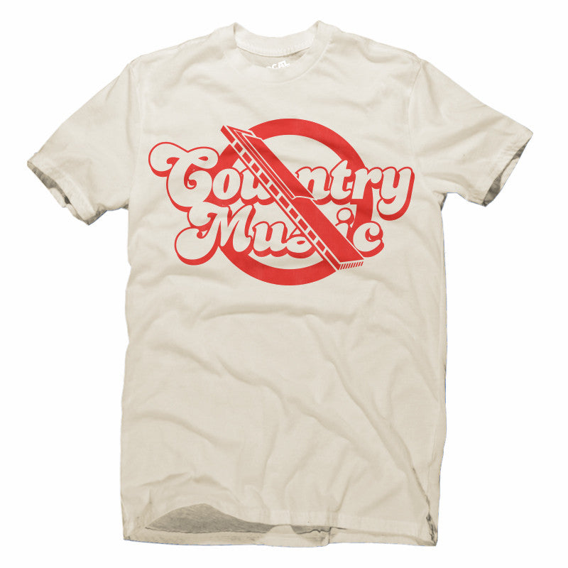 No Country Music T-Shirt