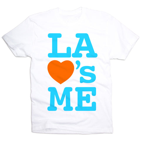 LA Loves Me T-Shirt White