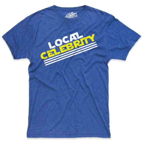 Local Celebrity Logo T-Shirt Blue