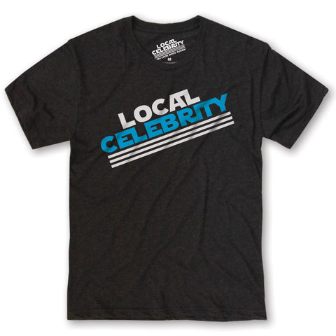 Local Celebrity Logo T-Shirt Black