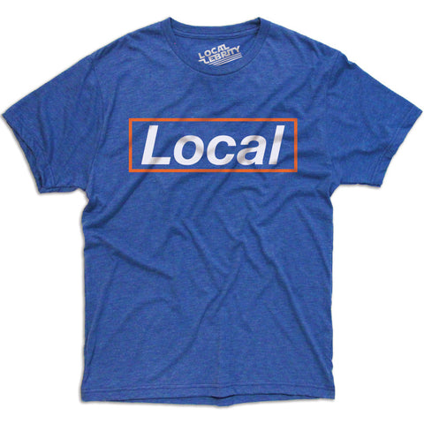 Local Box T-Shirt Blue