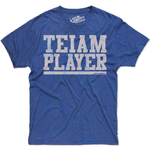 Teiam Player T-Shirt Blue