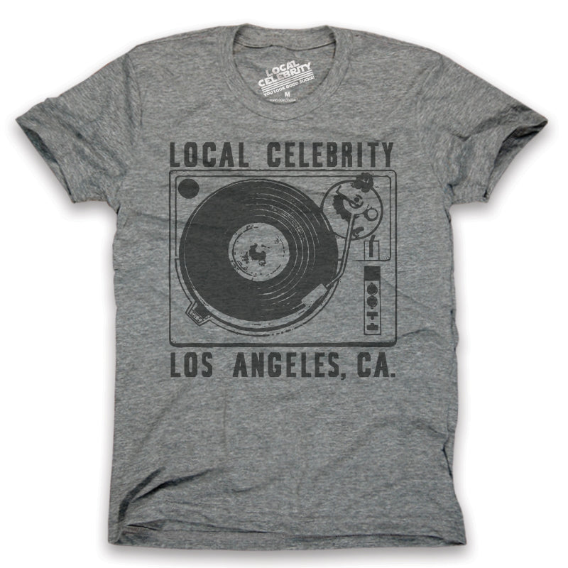 Local Celebrity Turn Table T-Shirt