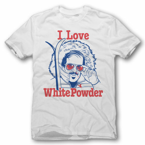 I Love White Powder T-Shirt