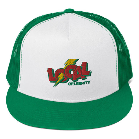 Local Cola Trucker Hat, Green