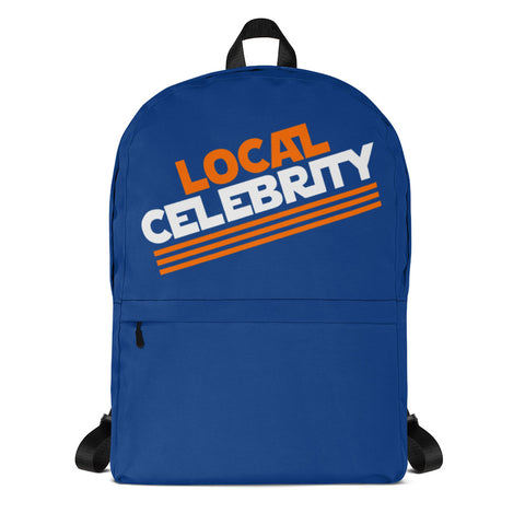Local Celebrity® Backpack, Blue
