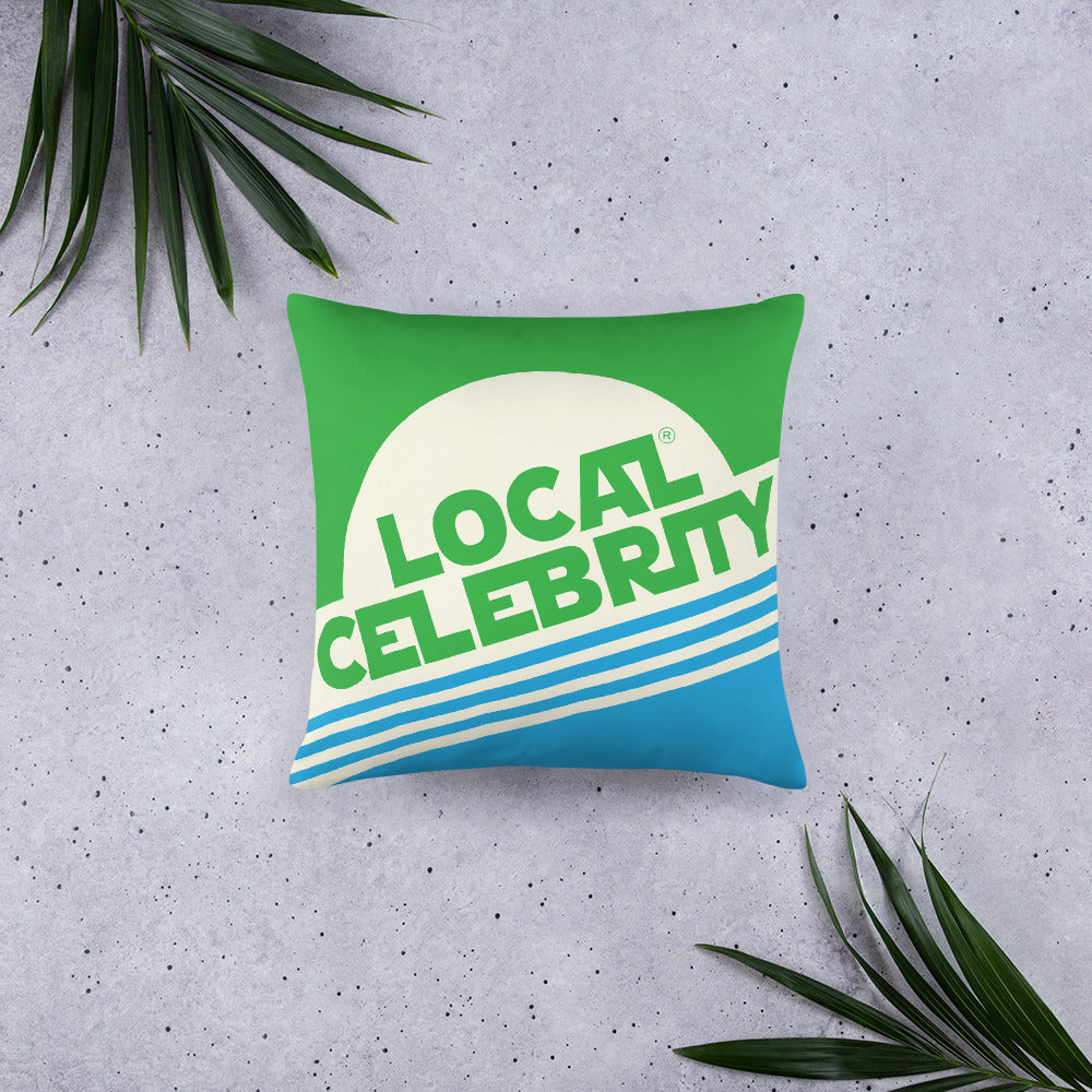 Local Celebrity® Green Pillows