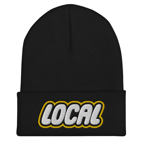 Local Cuffed Beanie, Black