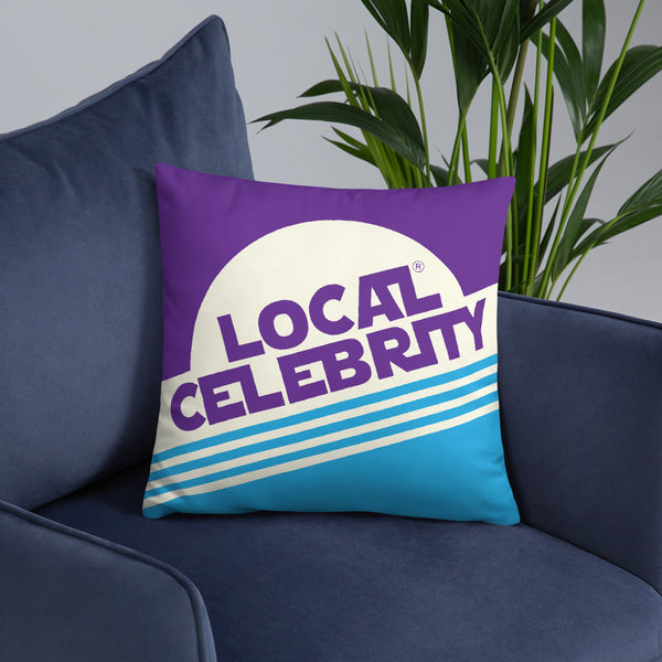 Local Celebrity® Purple Pillows