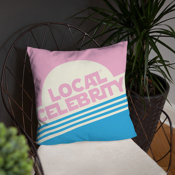 Local Celebrity® Pink Pillows