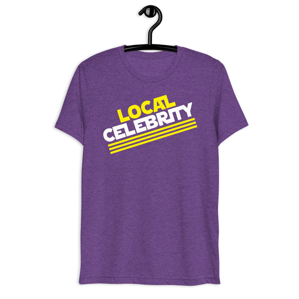 Local Celebrity® Logo Tee, Purple