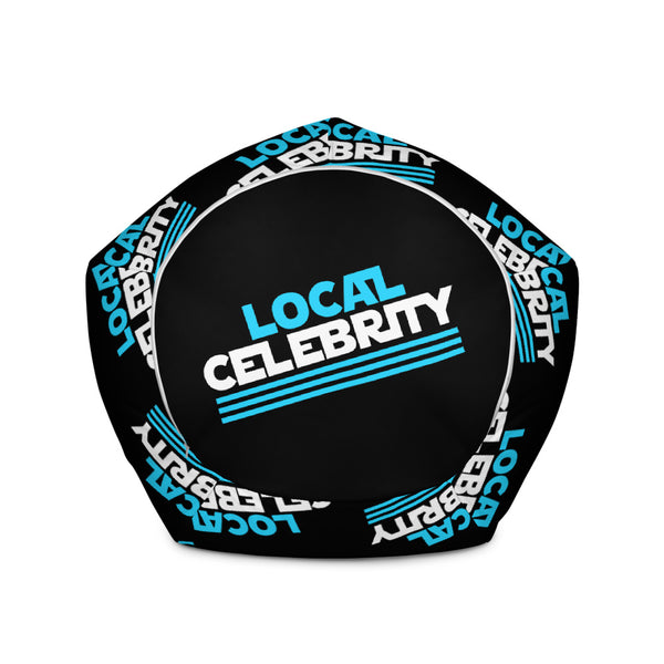 Local Celebrity® Bean Bag Chair w/ filling, Black