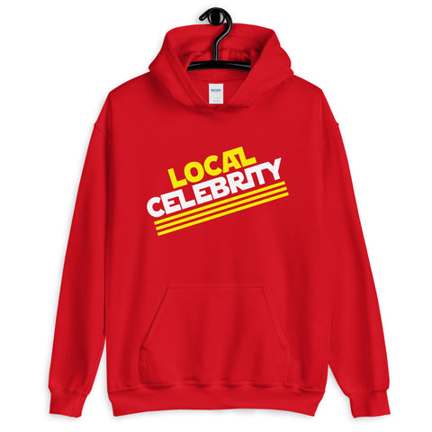 Local Celebrity® Hoodie, Red