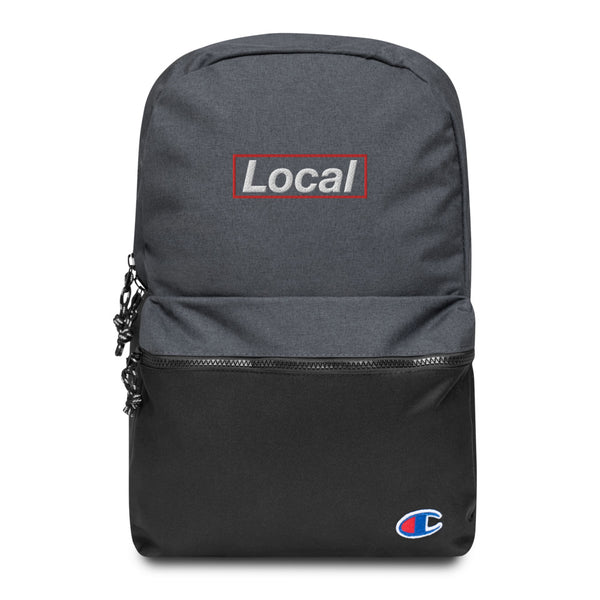 Local Embroidered Champion Backpack