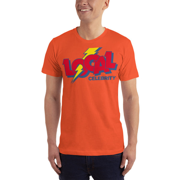 Local Celebrity® Cola Tee. Made in the USA