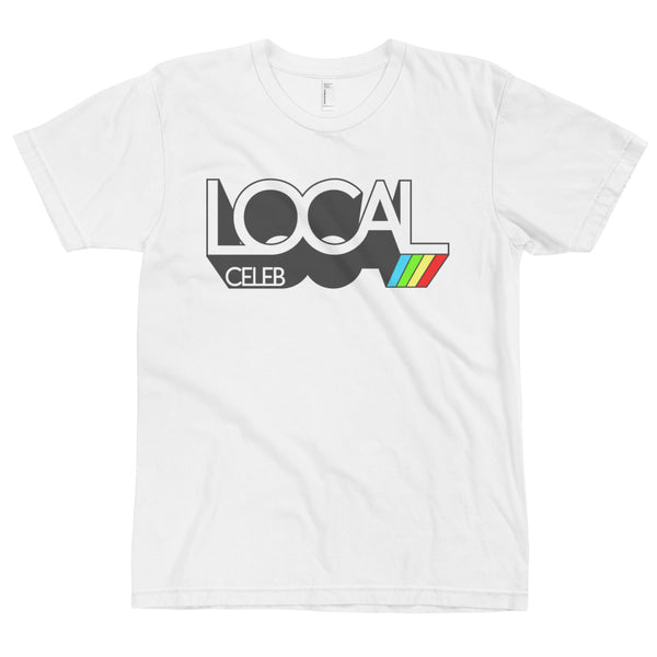 Local Celebrity® Dimension Tee. Made in the USA