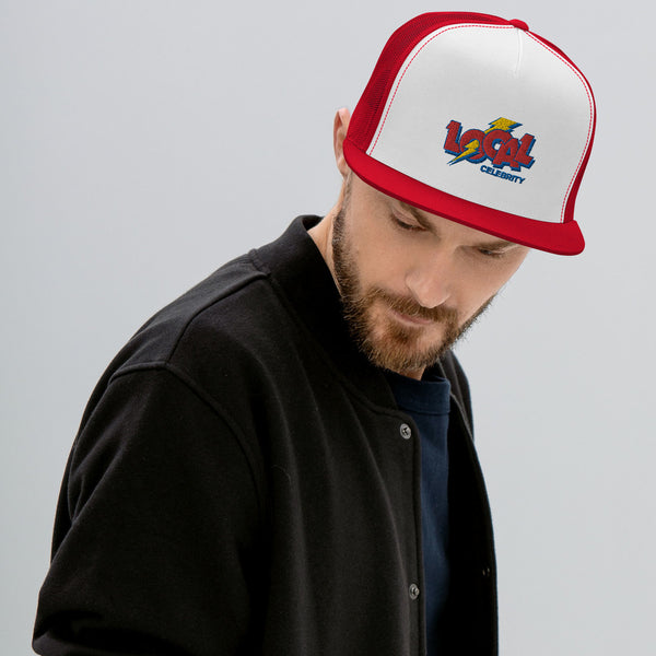 Local Cola Trucker Hat, Red