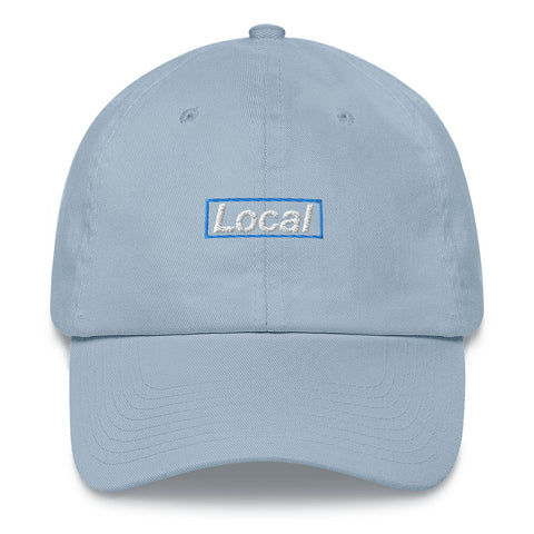 Local Blue Box, Embroidered Dad Hat