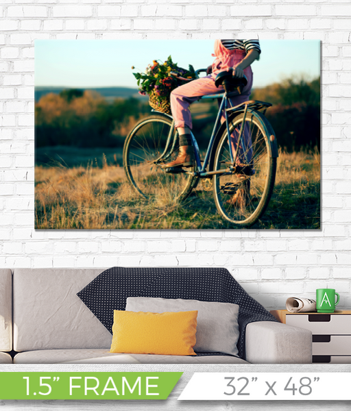 "32"" x 48"" Full Color Printed Canvas - 1.5"" Frame"