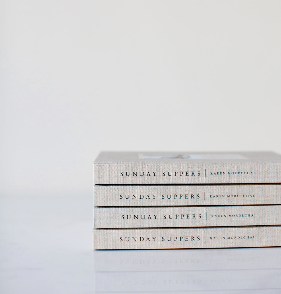 Sunday Suppers Cookbook | Recipes + Gatherings by Karen Mordechai